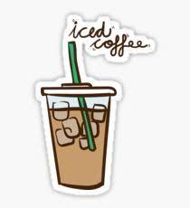 Iced Coffee Love 2 Sticker
