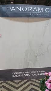 TISE West Daltile launches PANORAMIC 10 5 x 5 3 porcelain tile