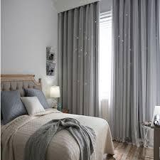 dekoartikel für kinderzimmer vorhänge grau voile gardinen