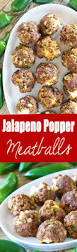 Happy Living Halloween Jalapeno Poppers by Jalapeno Popper Meatballs