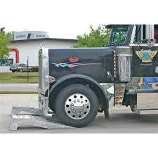 100 Heavy Duty Truck Service Ramps Pair Of Aluminum Semi Wheel Riser Walmartcom