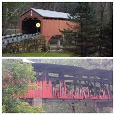 Haunted Attractions In Parkersburg Wv by Arson At Covered Bridge In West Virginia Community Familiar With