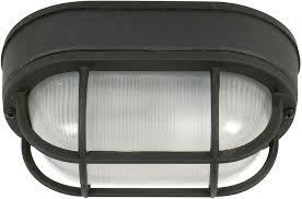 craftmade z396 05 bulkhead matte black outdoor small flush mount