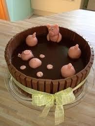 schweinchen im schlamm torte kuchen und torten kuchen