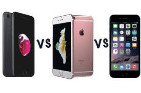 Apple iPhone 7 vs iPhone 6S vs iPhone 6 What s the difference