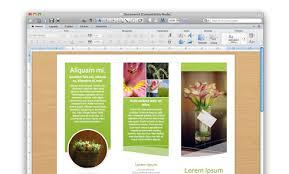 Word 2010 Flyer Template Brochure Bbapowers Download