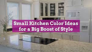 Color Ideas For Painting Kitchen Cabinets 11 Small Kitchen Color Ideas For A Big Boost Of Style