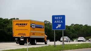 100 Penske Semi Truck Rental Build A 5 Million I4 Rest Stop Then Tear It Down 10 Years Later