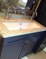 2 faucet trough sink