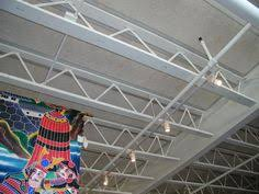 Tectum Deck Bulb Tees by Tectum Direct Attached Ceiling Panels Offset Noise And Echo Issues