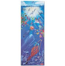floor puzzle melissa doug under the sea 100 piece