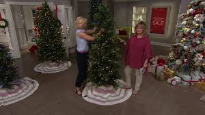 Qvc Pre Lit Christmas Trees by Ed On Air Santa U0027s Best Bay Leaf Tree By Ellen Degeneres On Qvc