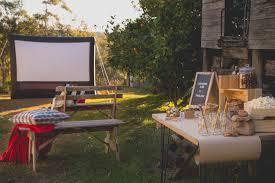 Outdoor Movie Nights For Teen Birthday Parties