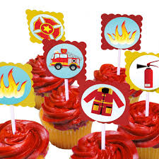 Fire Truck Cupcake Toppers (24 Pack) – Blue Orchards Fire Engine Cupcake Toppers Fire Truck Cupcake Set Of 12 In 2018 Products Pinterest Emma Rameys Firetruck 3rd Birthday Party Lamberts Lately Fireman Firehouse Etsy Monster Cake Ideas Edible With Free Printables How To Nest For Less Refighter Boy Truck Topper Image Rebecca Cakes Bakes Pin By Diana Olivas On Diana Cupcakes Fondant Red Yellow Rad Hostess The Mommyapolis