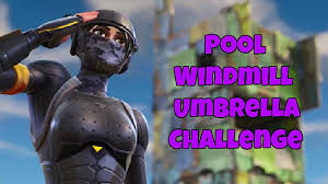Fortnite Guide How To Complete The Pool Windmill Umbrella Challenge