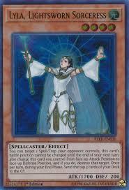 Lightsworn Structure Deck Full List by Lyla Lightsworn Sorceress Yu Gi Oh Fandom Powered By Wikia