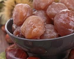 cuisiner des marrons frais recette marrons glacés
