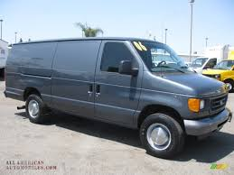 Cannonball Bale Beds by 2006 Ford E Series Van E350 Commercial In Dark Shadow Grey