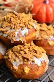 Gingersnap Pumpkin Pie Cheesecake by Cheesecake Pumpkin Doughnuts With Gingersnap Crumb Will Cook For