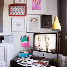 Functional Office Corner Spring Home DecorOffice