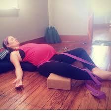 Prenatal Yoga Supta Baddha Konasana