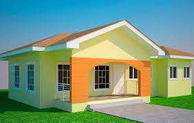 Three Bedroom House Designs In Kenya Ghana 3 Plans On