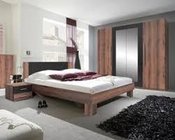 schlafzimmer komplett 4 teilig 160x200cm monastery eiche schwarz modern schrank