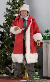 Griswold Christmas Tree Scene by Christmas Vacation Santa Clark 8