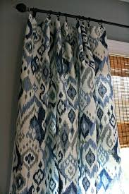 Fabrics For Curtains Uk by Blue Ikat Curtains U2013 Teawing Co