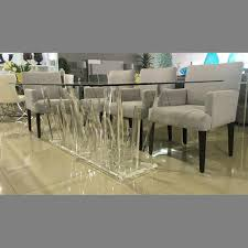 Perspex Krip Dining Table New