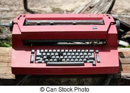 images de ordinateur portable machine écrire informatique
