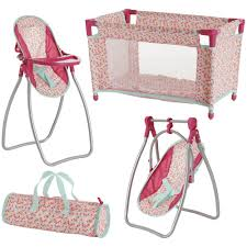 Wilko Doll Bed, High Chair And Swing Set | Wilko Krabatse Doll High Chair John Lewis Partners Dolls Highchair At Feili Toys Baby With En71toys Buy Badger Basket High Chair With Padded Seat White Rose Fits Cutest Do It Yourself Home Projects From Ana Mommy Me By To Discover Shop Online For Best Price And Annabell 3 In 1 Swing Comfort Bayer Chic 2000 Dotty Pink Navy Bubbles My Mom And Me Toddler Ding 911 Reborn