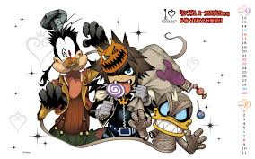 Sora Halloween Town Keyblade by New Kh 10th Anniversary Wallpaper By Shiro Amano News Kingdom