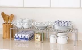 küche schrank erweiterbar regal organizer teller tasse kann lagerung rack speisekammer eisen buy gericht lagerung rack tasse lagerung rack küche