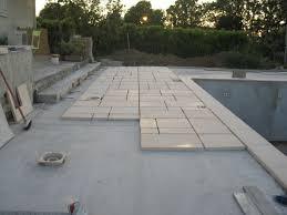 pose carrelage sur dalle beton exterieur evtod