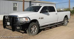 100 Dodge Truck 2014 Ram 3500 Crew Cab Pickup Truck Item DD4396 SO