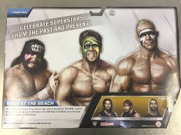 Halloween Havoc 1996 Outsiders by Toyspotting Mattel Wwe Then Now Forever Wcw Bash At The Beach