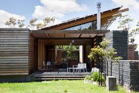 100 Gabion House This Home Is Grounded Into Its Site By Walls Of Baskets