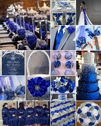 Royal Blue For A Wedding Nothing Quite Makes Splash Like Set Against Crisp White Background Its Fresh Elegant And It