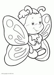 Printable Butterfly Coloring Pages With Regard To Useful Image Collection Of Butterflies Best Suited