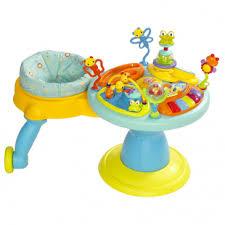 table activité bébé avec siege avis poste d activités doodle bugs around we go bright starts
