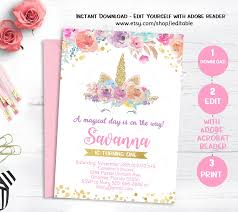 Inspirationalnew Invitation Template Etsy