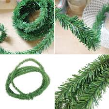 Amazon 18ft Pine Christmas Garland Decorative Green Artificial Xmas Tree Decoration Home Improvement