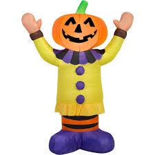 Halloween Inflatable Spider Archway by Gemmy Airblown Inflatable 3 5 U0027 X 2 5 U0027 Pumpkin Clown Halloween