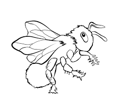 Return To Bug Coloring Pages Section Bee