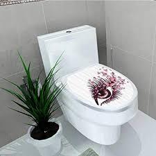 de printsonne badezimmer abnehmbaren pvc
