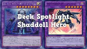 yugioh deck spotlight shaddoll heroes january 2015 youtube