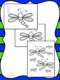 Dragonfly Coloring Page Cute Fun And Free
