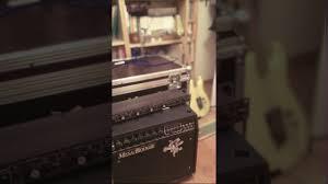 Mesa Boogie Cabinet 2x12 by Mesa Boogie Mark Iii Blue Stripe Raw Guitar Track Testing Bogner
