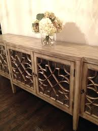 Buffet Cabinet With Glass Doors Contemporary Dining Room Elegant Decorating Buffets And Sideboards Than
